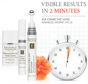 Introducing the Age Corrective Ultra! Collection by Eminence Organic Skin Care