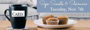 Sips Sweets & Skincare Nov 7th event
